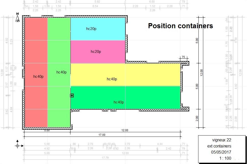 Le Permis De Construire De Notre Maison Container La Maison Crobo